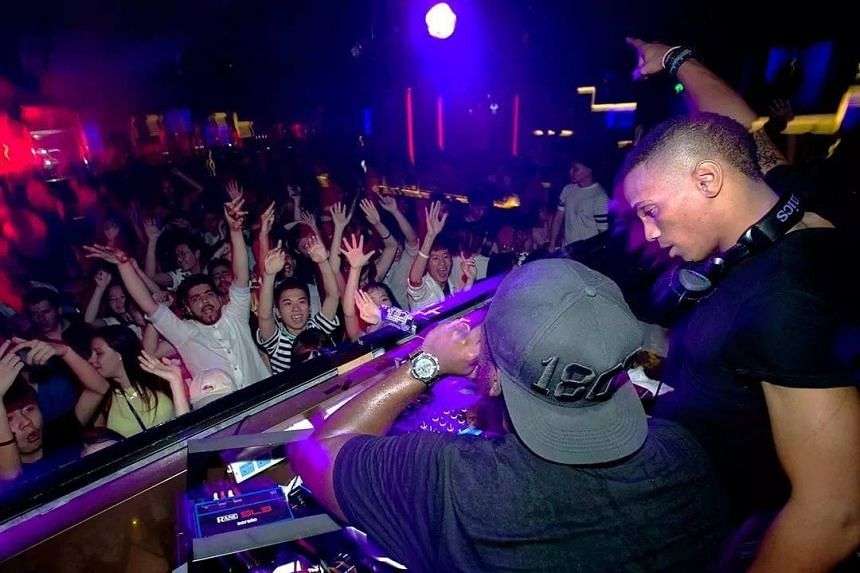 DJs spin tunes for the patrons at Zouk Changsha in China's Hunan province.