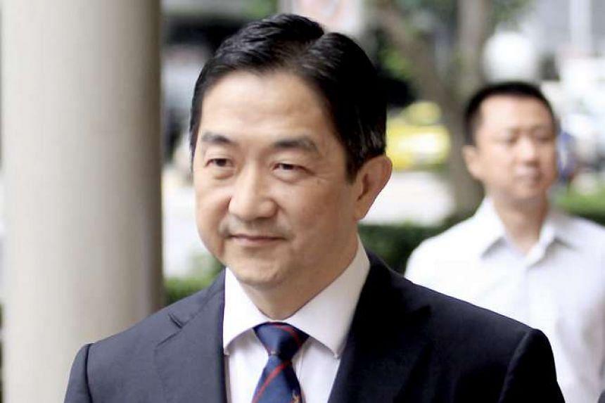 Malaysian dealmaker John Soh at the High Court on Jan 27, 2016.