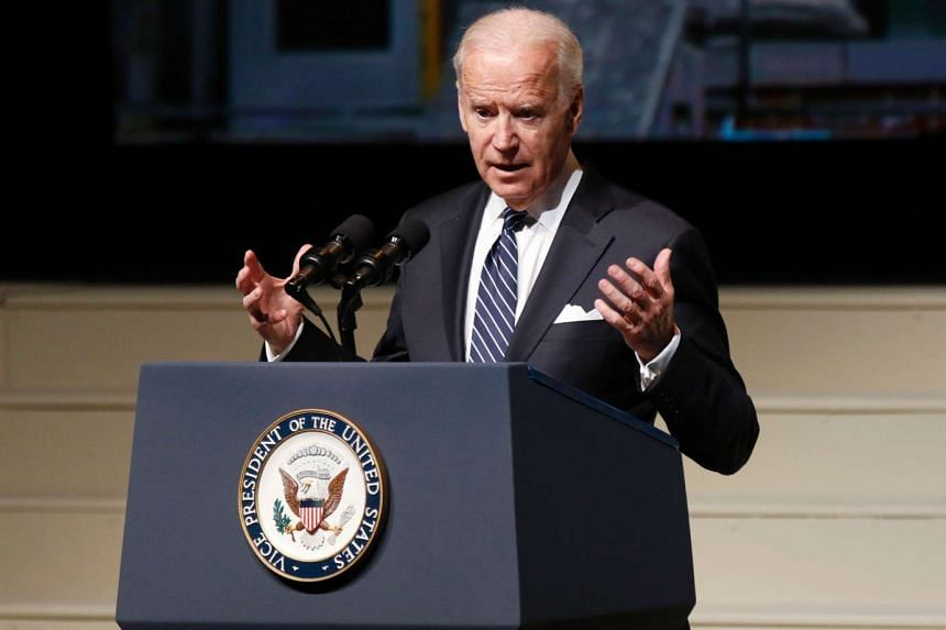 "US Vice-President Joe Biden told President-elect Donald Trump to ""grow up"" in an interview on Thursday (Jan 5) after the latter tweeted mocking comments about Senate Minority Leader Chuck Schumer."