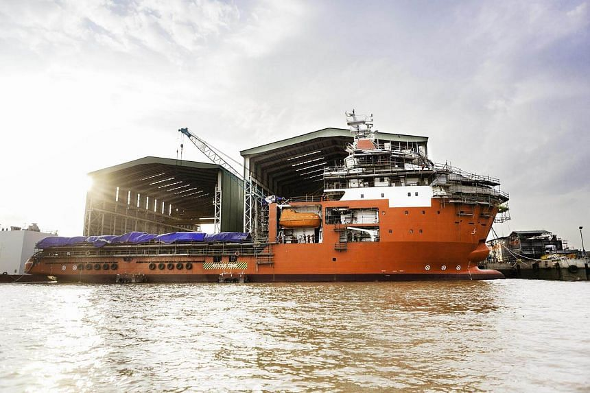 Triyards Holdings, an integrated service provider for the offshore oil and gas industry, posted a 66 per cent fall in first quarter net profit to US$2.1 million (S$3.01 million).