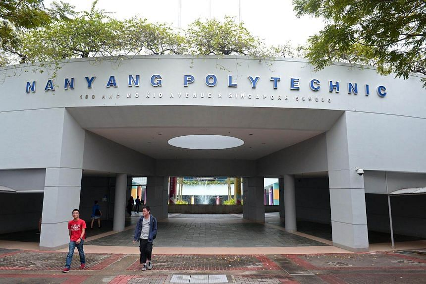 Half of the students at Nanyang Polytechnic go on at least one overseas stint during their time at the school.