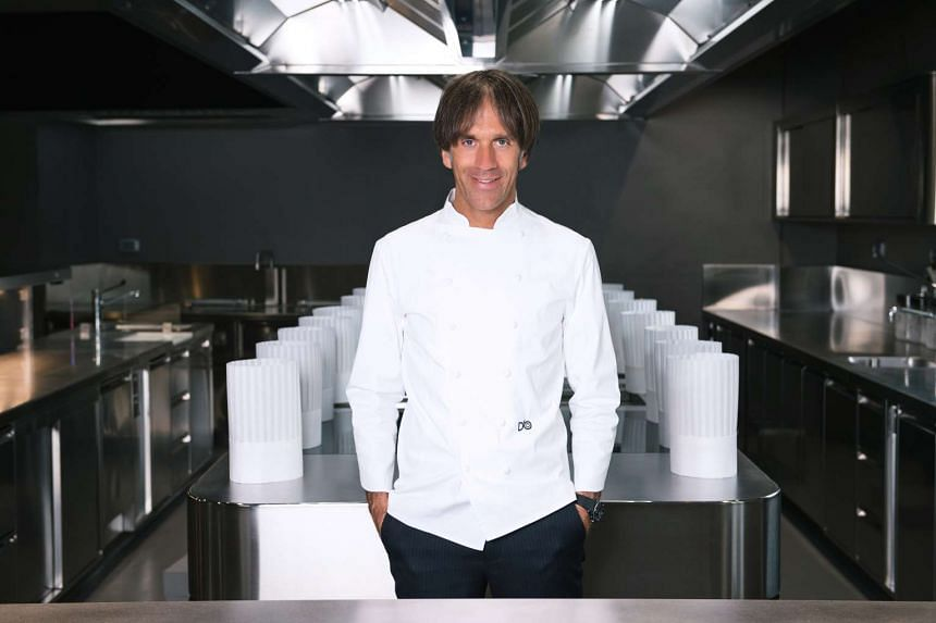 Chef Oldani is the owner of D'O, a 40-seater one Michelin starred outpost in Cornaredo, just outside Milan.