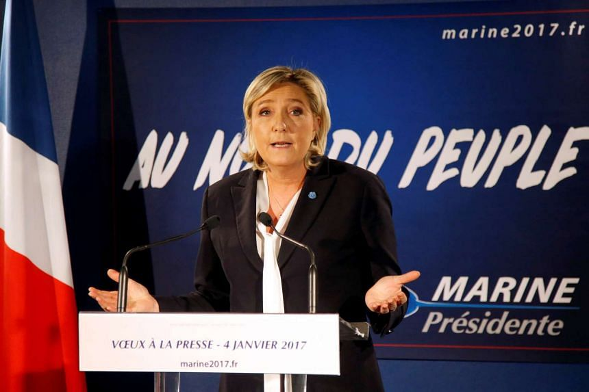 French far-right National Front party president Marie Le Pen wants the EU to surrender control of key powers back to France.