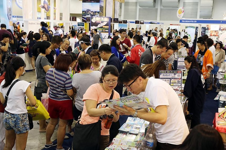For consumers, the return of several travel agents will mean a bigger show this year at the Natas fair from Feb 17 to 19.
