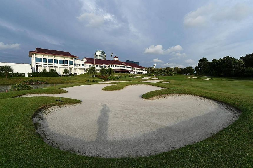 The golf course of Jurong Country Club, seen on Dec 19, 2016.