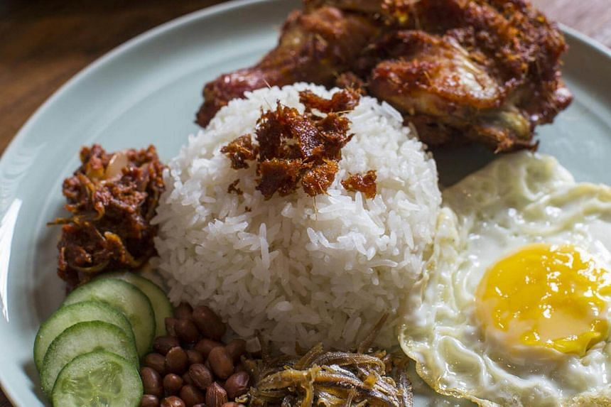 Nasi lemak from The Coconut Club.