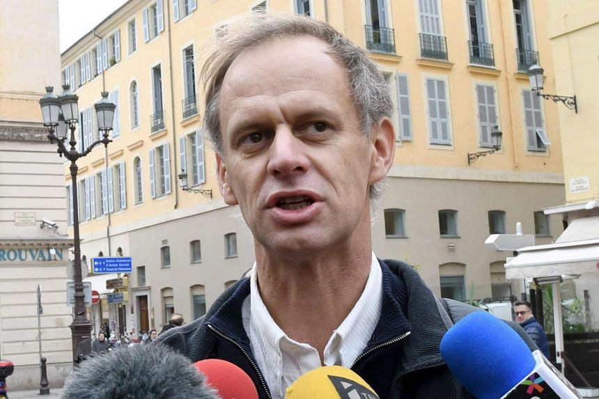Frenchman Pierre-Alain Mannoni was acquitted on Jan 7, 2017, by a French court for helping migrants who had sneaked into the country from Italy.