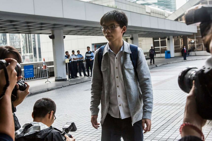 Hong Kong pro-democracy activist Joshua Wong is under Taiwan police protection after a failed attempt by a pro-China protester to assault him upon his arrival into the country on Jan 7, 2017.