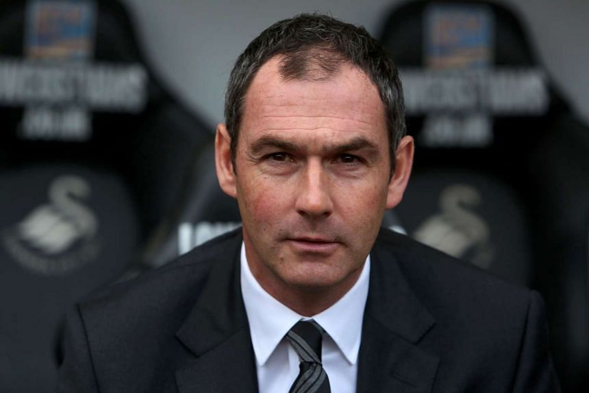 Swansea City's newly appointed English head coach Paul Clement.