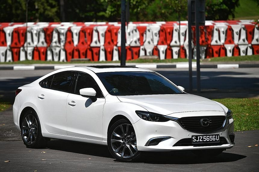 The Mazda 6 is spacious, elegantly styled and well finished.