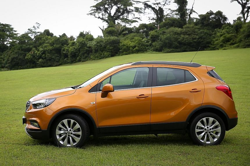 The Mokka X is Opel's first SUV in Singapore.