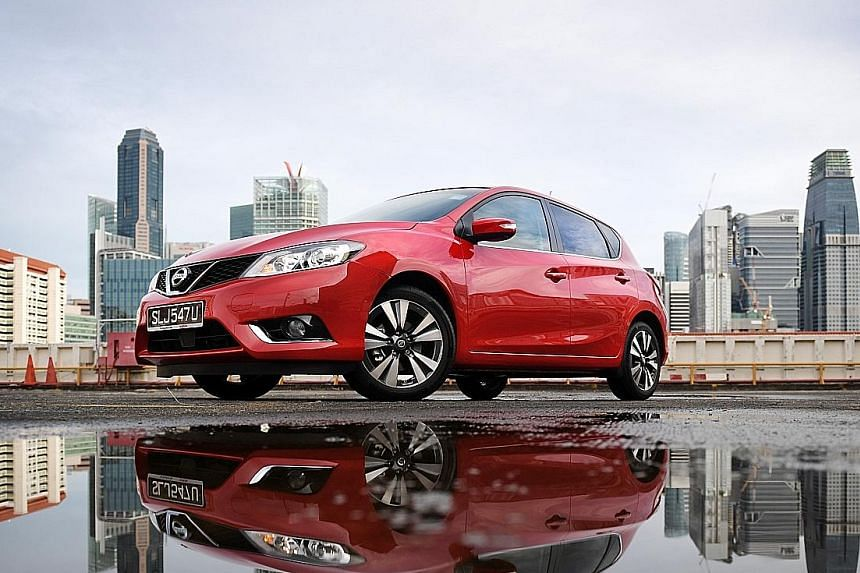 The Nissan Pulsar can be equipped with features such as lane-departure warning, blind-spot monitoring, collision warning and a 360-degree camera system.
