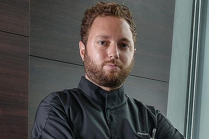 Mathieu Escoffier worked at several Michelin-starred establishments in France and the United States before coming to Singapore.
