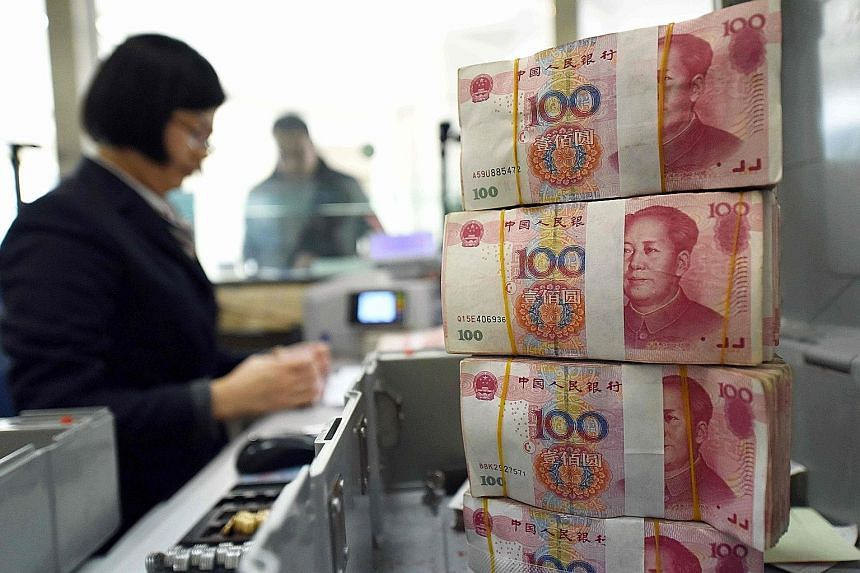 Yesterday morning, the PBOC raised the yuan exchange rate against the US dollar by 0.9 per cent - the biggest single-day increase since 2005 - to a fixing of 6.8668.