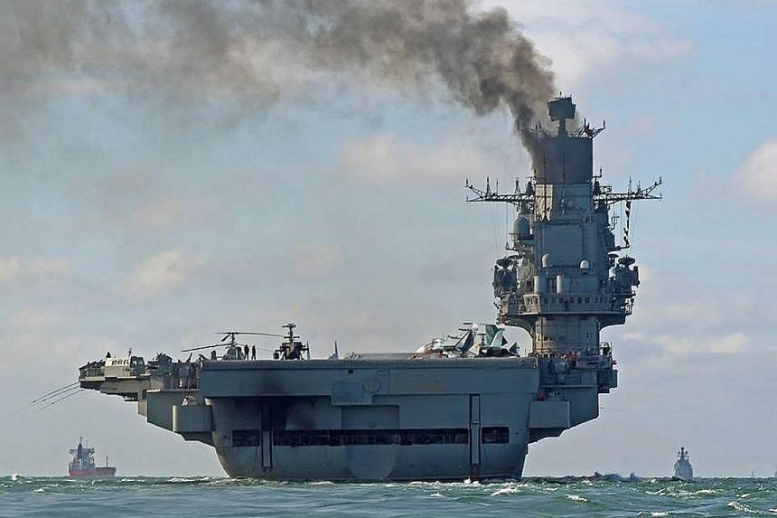 Russia has pulled back its fleet, which was led by the Admiral Kuznetsov aircraft carrier, from the eastern Mediterranean. The naval deployment off the Syrian coast has made for a rare sight in the decades since the collapse of the Soviet Union.