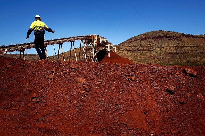 The Fortescue Solomon iron ore mine in the Valley of the Kings, about 400km south of Port Hedland in the Pilbara region of Western Australia. Fortescue's stock has risen 216 per cent in the past year, as many key resources have remained strong on the