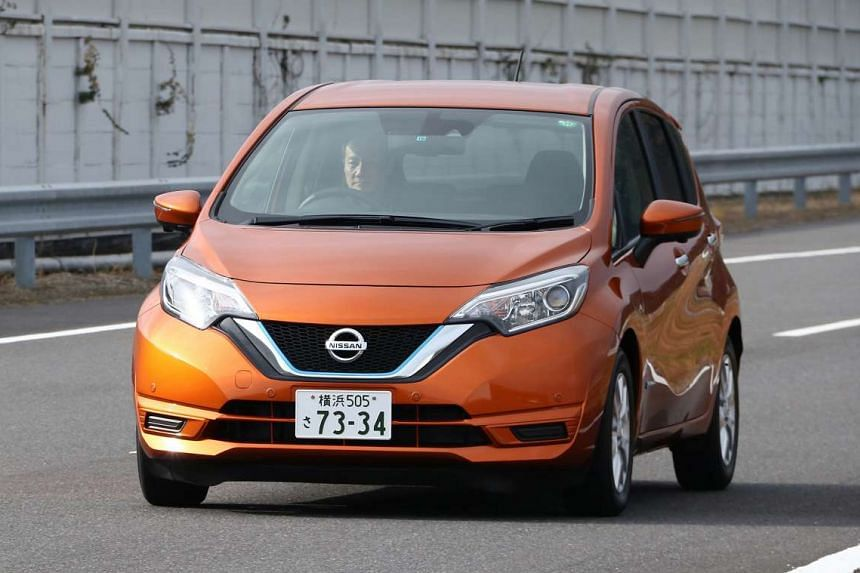 The Nissan Note e-Power is driven solely by an electric motor.