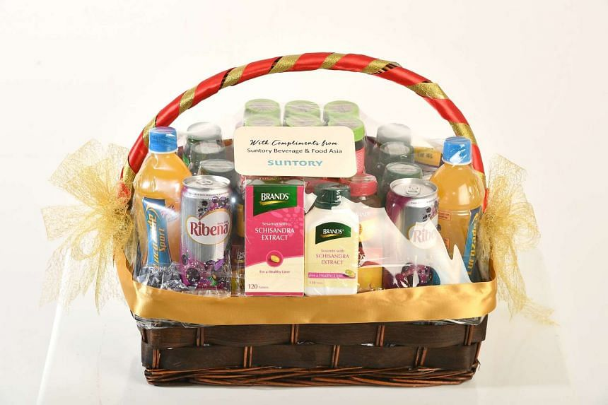 To enter the contest for a chance to win one of the five festive hampers from Suntory, worth $188 each, go to http://contest.sph.com.sg/stfood