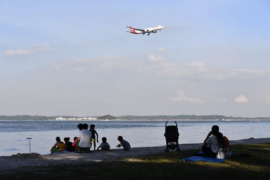 Changi Beach reopened to the public on Jan 8, 2016, after days of clean-up operations following an oil spill in Johor on Jan 3.