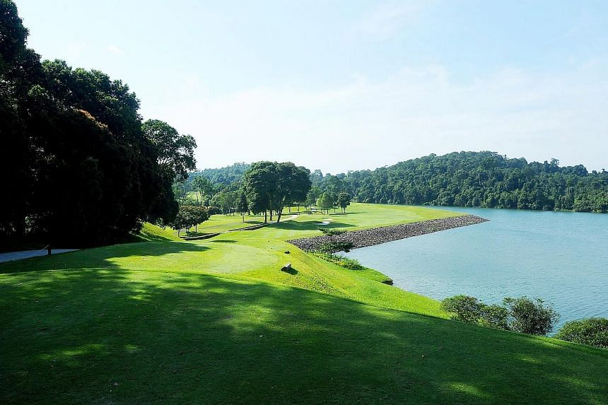 Hole 16 (par 5) at the SICC's New Course. SICC club captain Andrew Lim said discussions are still ongoing, and any plans for the New Course are very preliminary.