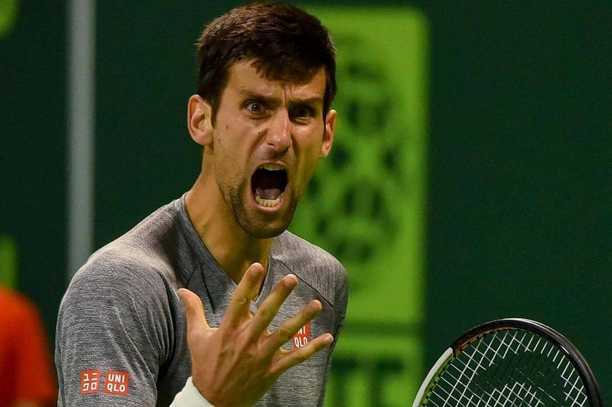 Upset at losing a point, Novak Djokovic had fired a ball into the stands at the Qatar Open final.