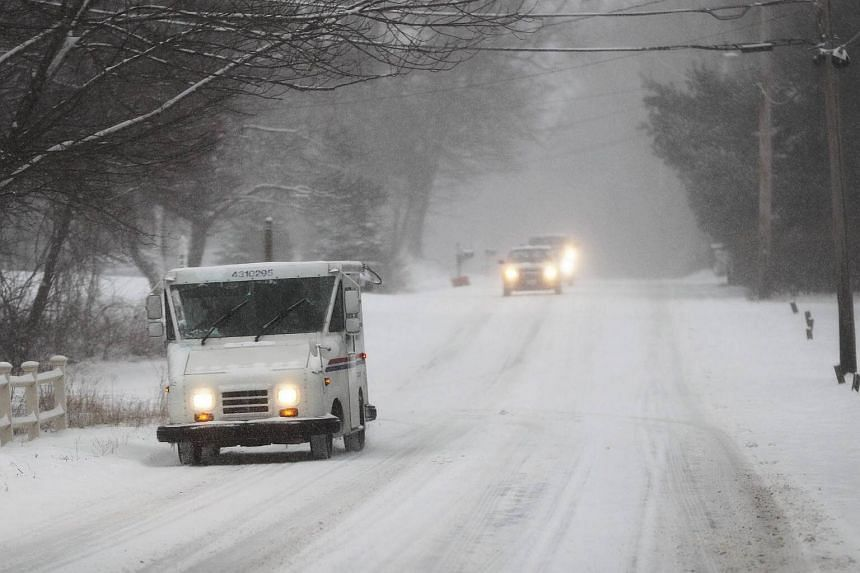 Some of the heaviest snowfall, accumulating to about 30cm, was in southeast Virginia around Williamsburg and in northern North Carolina.