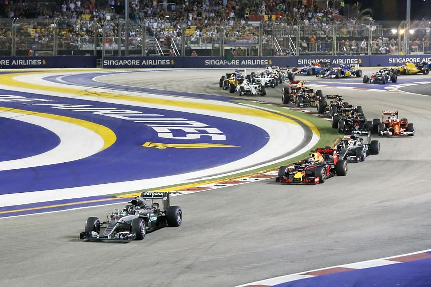 The Singapore F1 race will be held in September for the 10th time, amid questions over whether it will continue in Singapore in the coming years.