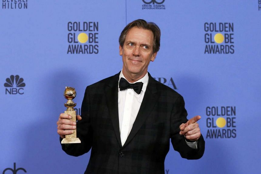 Hugh Laurie won Best TV Supporting Actor for his role in The Night Manager.