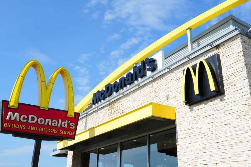 A McDonald's restaurant in Gettysburg, Pennsylvania.