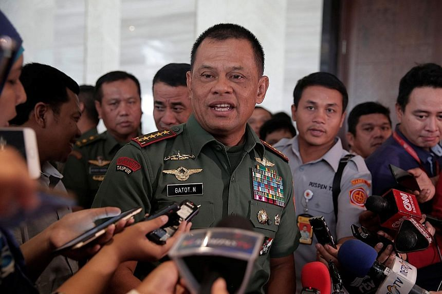 General Gatot Nurmantyo, who hails from a military family, made headlines previously for warning that Indonesia could be the site of proxy wars aimed at controlling its natural resources.