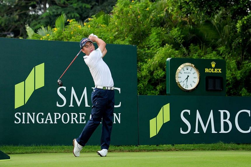 Japanese golfer Yuta Ikeda is set to lead his country at next week's SMBC Singapore Open.