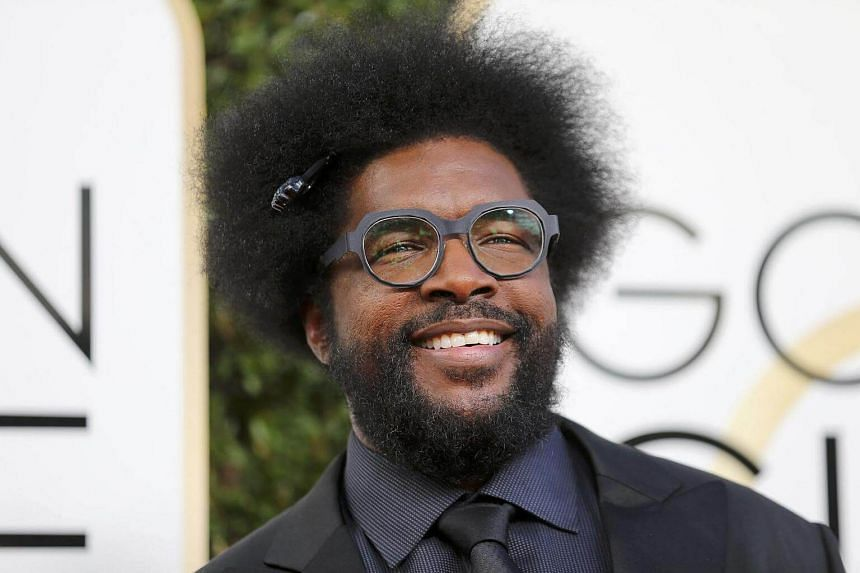 Musician Questlove arriving at the 74th Annual Golden Globe Awards in Beverly Hills, California, US, on Jan 8, 2017.