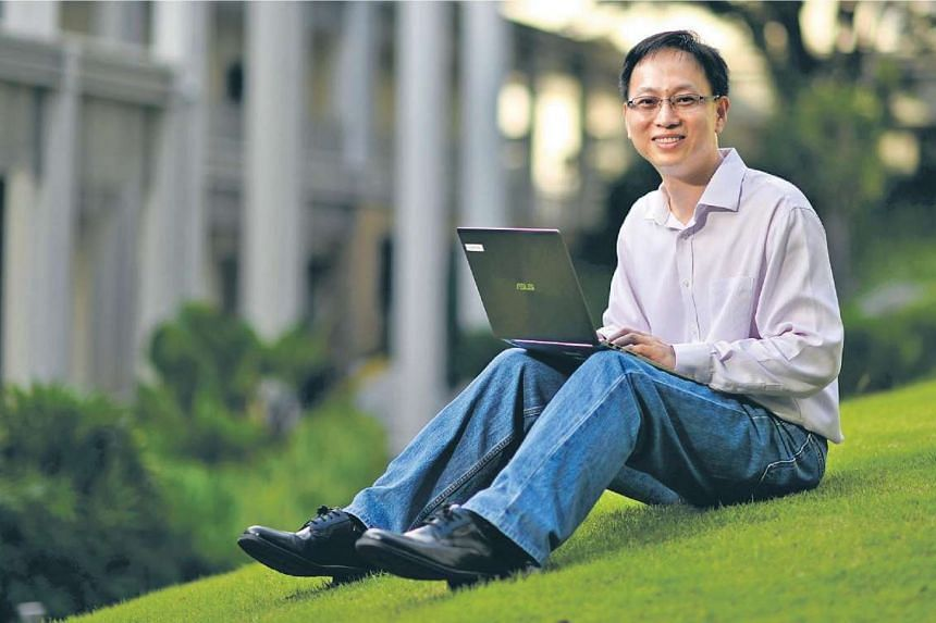 Mr Chia decided to go back to school because he wanted further professional guidance to take him to the next level.
