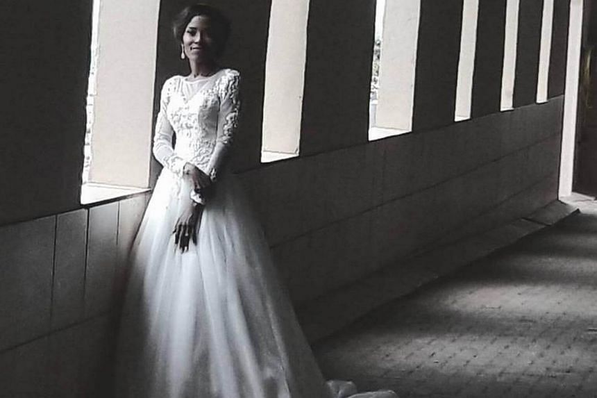 South African Olympic 800m champion Caster Semenya married her long-term partner Violet Raseboya in South African capital Pretoria on Saturday.