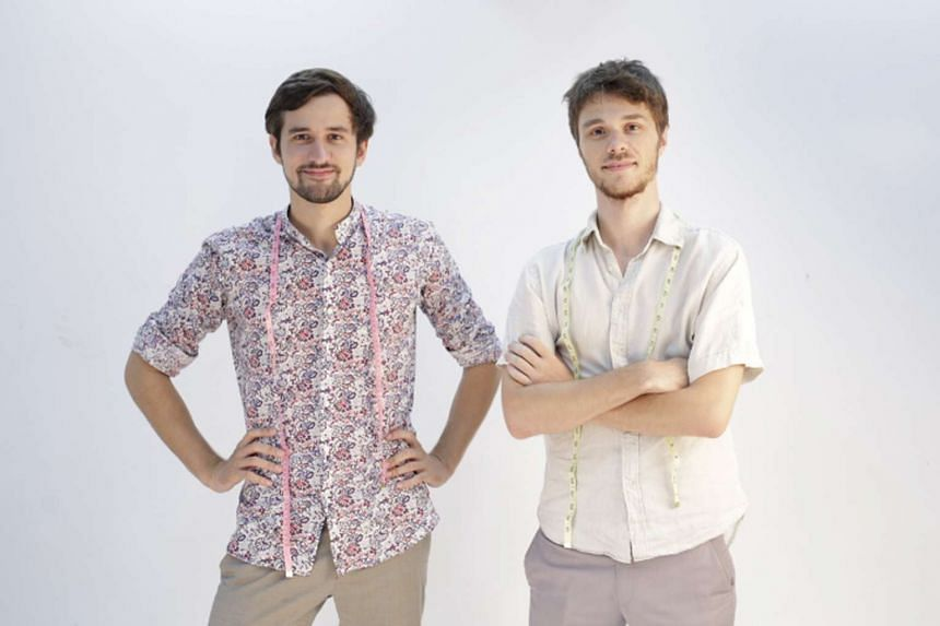 Efaisto co-founders Bernard Seys (at left) and Lou-Adrien Fabre.
