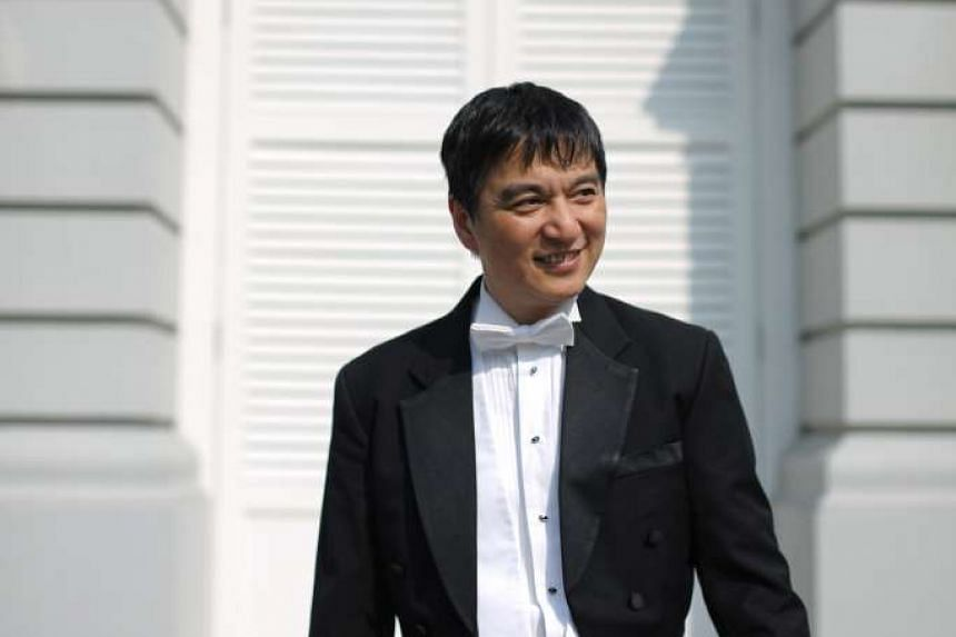 Lan Shui, Singapore Symphony Orchestra (SSO) music director and conductor.