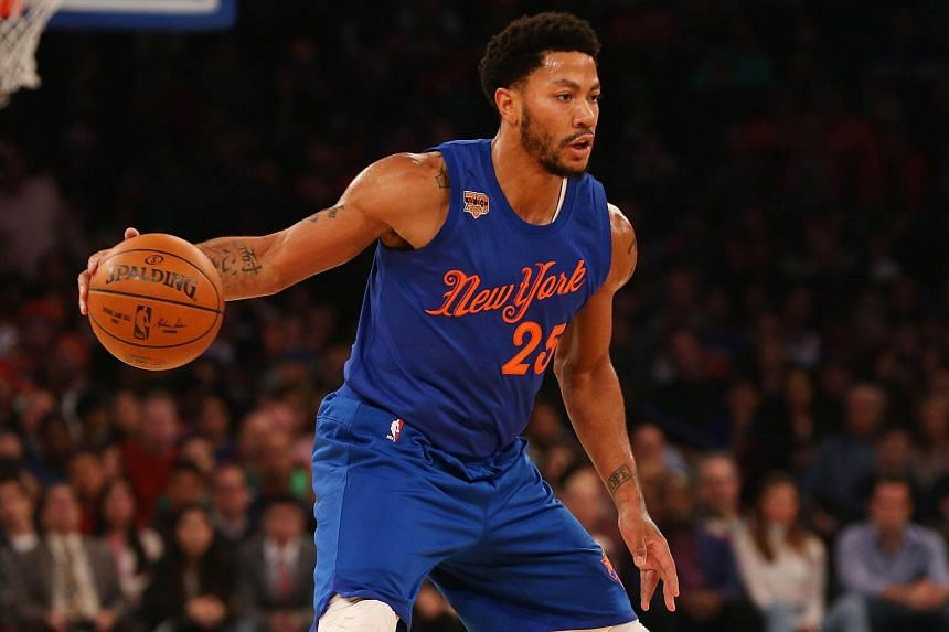 New York point guard Derrick Rose was a mysterious no-show at Madison Square Garden on Monday.