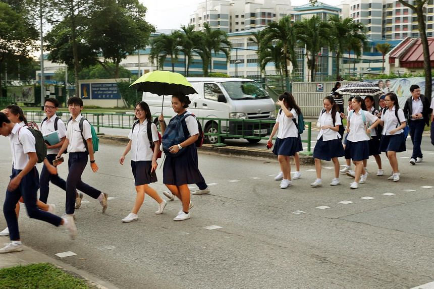 The results of the GCE O-level examination will be released today.