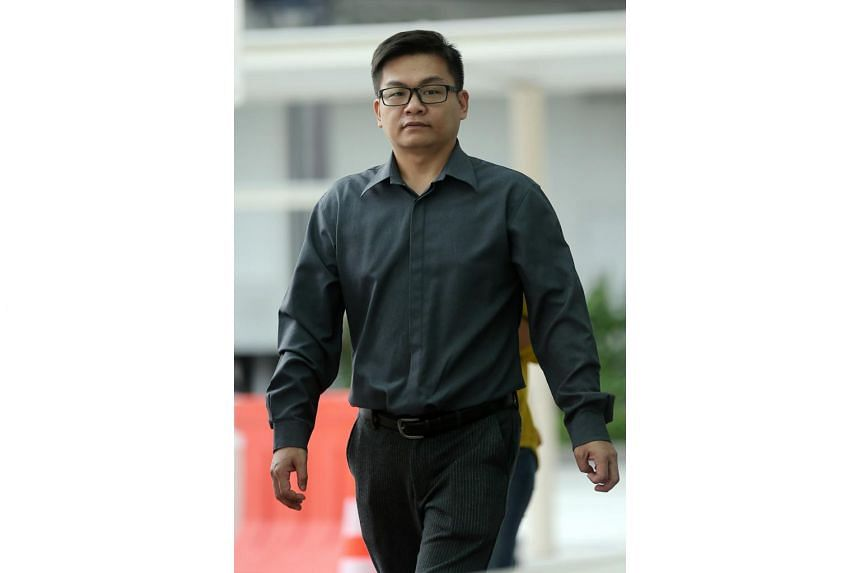 Lim Yee Hua, 35, was convicted of two charges of punching a pedestrian and fined a total of $9,000 on Jan 10, 2017.