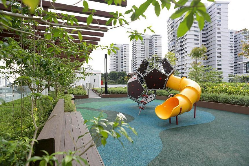 A playground and garden at the new building of Assisi Hospice, on Jan 10, 2017.