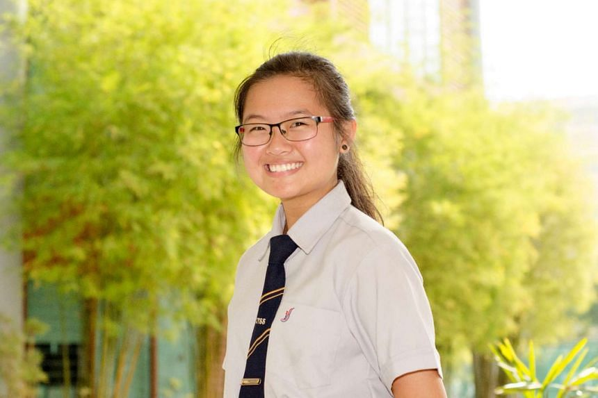 Tiffany Chee achieved a L1R4 of 16, meeting her conditional offer to study biomedical science at Temasek Polytechnic.