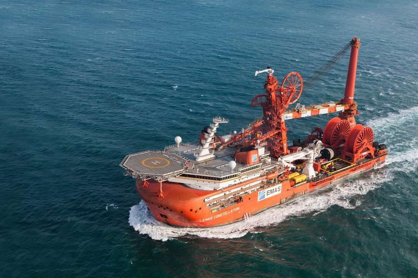 Emas Offshore's Lewek Constellation.
