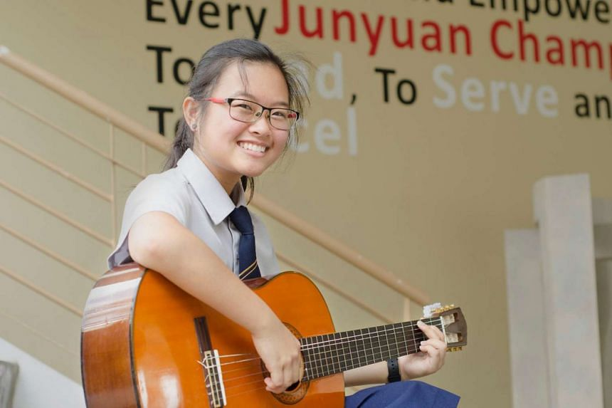 Tiffany Chee achieved an L1R4 of 16, meeting her conditional offer to study biomedical science at Temasek Polytechnic.