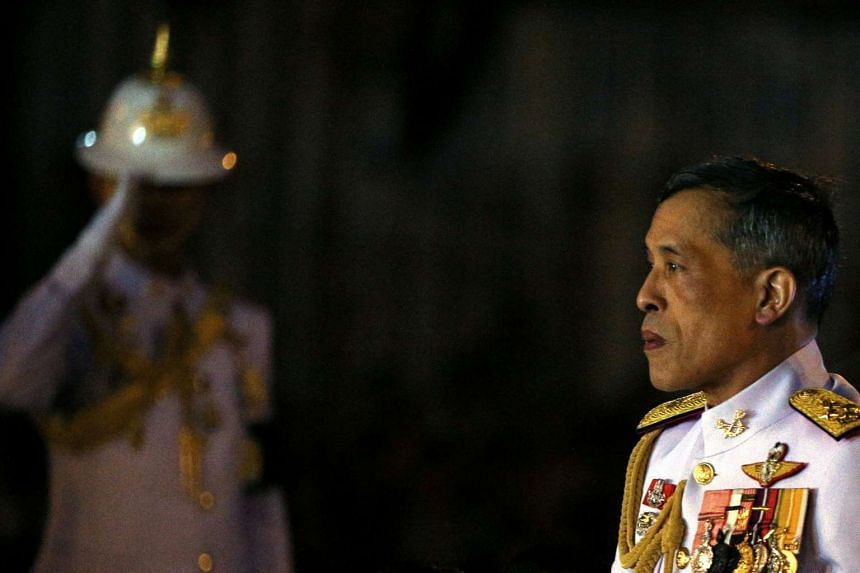 File photo of Thailand's King Maha Vajiralongkorn. The new Thai king's office has asked for changes to a draft Constitution regarding his royal powers and the government has agreed to make them.