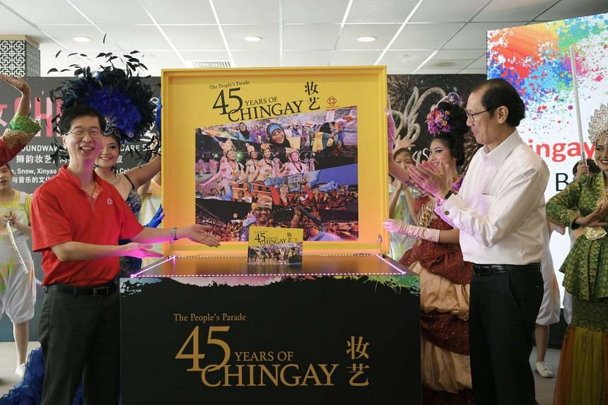 The People's Parade: 45 Years of Chingay was launched on Jan 11, 2017 by the People's Association (PA) and Singapore Press Holdings subsidiary Focus Publishing.