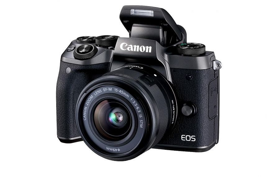 The Canon EOS M5's touchscreen feels the most intuitive among the sea of mirrorless cameras.