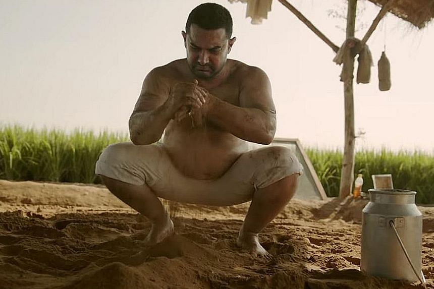 Aamir Khan put on nearly 30kg for his part in Dangal.