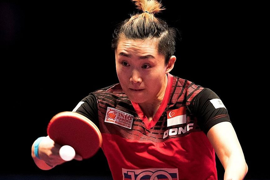 Singapore's world No. 5 Feng Tianwei is the biggest name so far to confirm her participation in the inaugural season of the T2 Asia-Pacific table tennis league.
