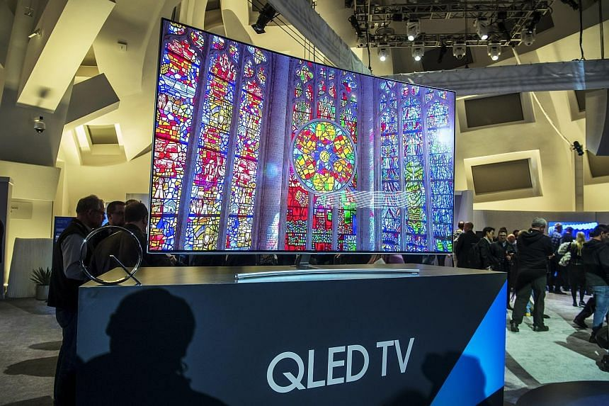 Samsung's Qled versions are basically conventional LCD-based TV sets enhanced by quantum dots.