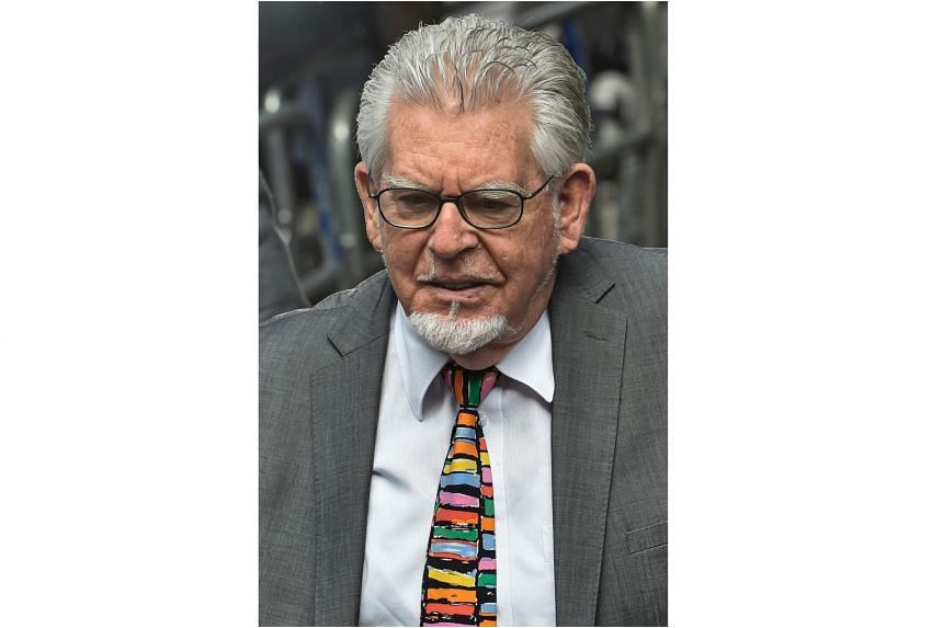 Rolf Harris, pictured here in 2014, is on trial for seven counts of indecent assault and one of sexual assault which allegedly took place between 1971 and 2003.
